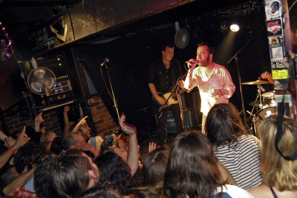 The Drones are joined by Joel Silbersher to cover GOD classic 'My Pal', the grand finale at the Farewell to The Tote gig 2010