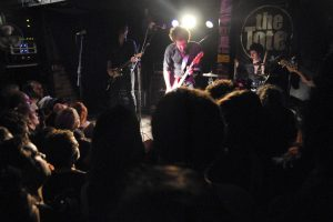 The Drones play onstage at the Farewell To The Tote gig in 2010